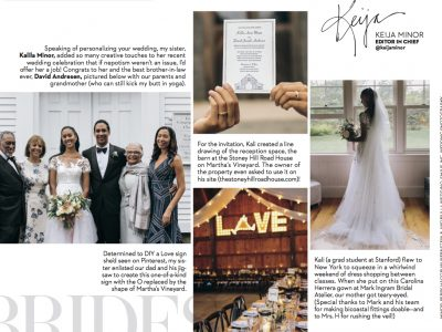 published: Brides Magazine